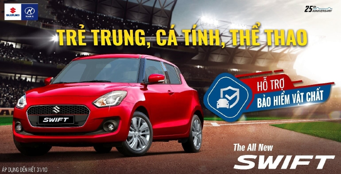 Suzuki Swift nhập khẩu mới nhất 2020