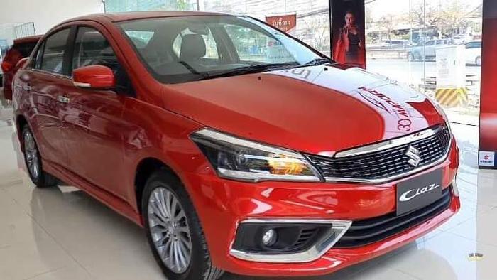 Gía lăn bánh Suzuki Ciaz 2020 màu Đỏ nhập khẩu từ Thái Lan
