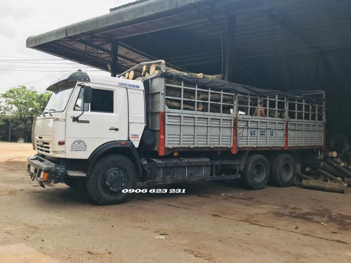 Bán xe tải Kamaz 53229 (6x4) tải thùng Kamaz 6,3m nhập khẩu Nga | Giá bán xe tải 15 tấn Kamaz mới nhất