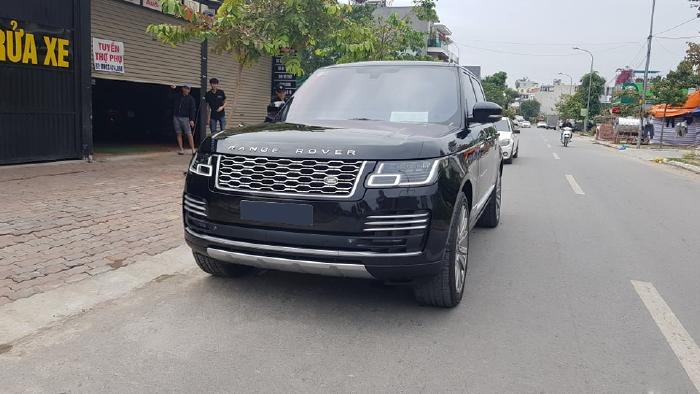 Bán Land Rover Range Rover Autobiography Black Edition 5.0L model 2016 màu đen
