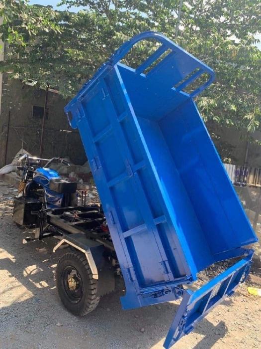Giá xe ba bánh 175cc có ben Hoa Lâm  chở đất cát đá xưởng xe ba bánh Đức Hoàng