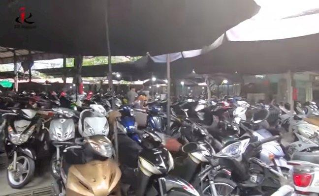 Cửa hàng xe máy cũ Chùa Hà