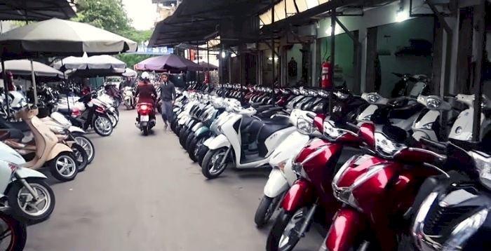 Kinh nghiệm mua xe máy cũ ở Hà Nội