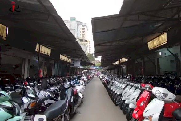 Chợ xe máy cũ Chùa Hà