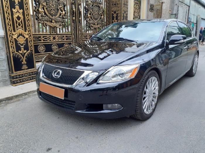 Tôi cần bán xe nhập Nhật Lexus GS350 2009 AT, màu đen