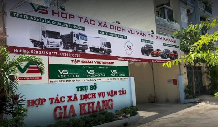 Cho thuê xe tự lái tại HTX Gia Khang