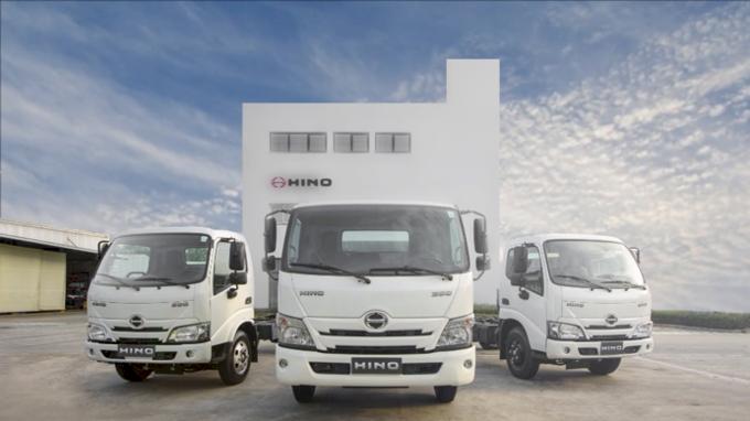 Dòng xe tải nhẹ Hino Series 300 mới