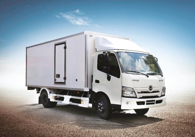 Dòng xe tải Hino 300 Series mới ra mắt tại Việt Nam. Ảnh: Hino Motors Việt Nam.