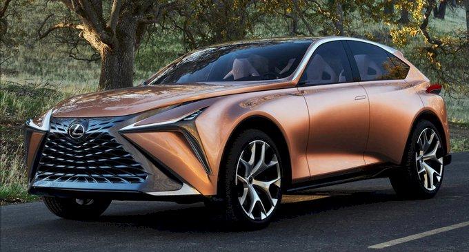 Mẫu concept xe điện của Lexus