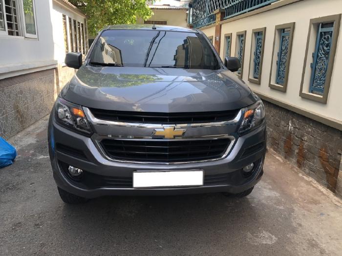 Cần bán Chevrolet Trailblazer LT 2019, tự động, máy dầu, xám chì,