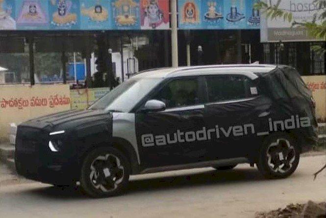 Hình ảnh chạy thử rò rỉ của Hyundai Alcazar.