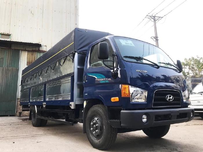 Hyundai Mighty 110XL tải 7 tấn thùng dài trên 6 mét tại Hyundai Đông Nam Chương Mỹ