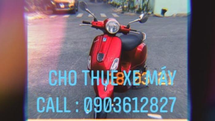 Cho thuê xe máy tại sài gòn