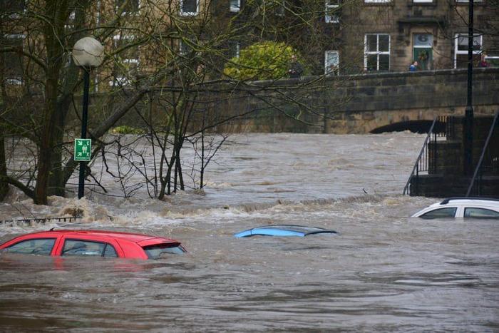 Bảo hiểm xe bị ngập nước - thuỷ kích