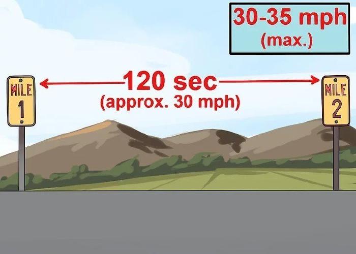 Đánh giá tốc độ của ô tô