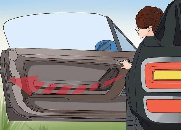 Mở cửa xe dứt khoát