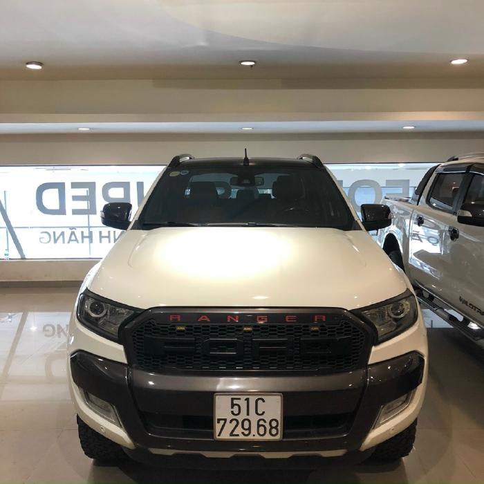 Bán Wildtrak 3.2 xe màu trắng đẹp chạy chuẩn 8,4 vạn