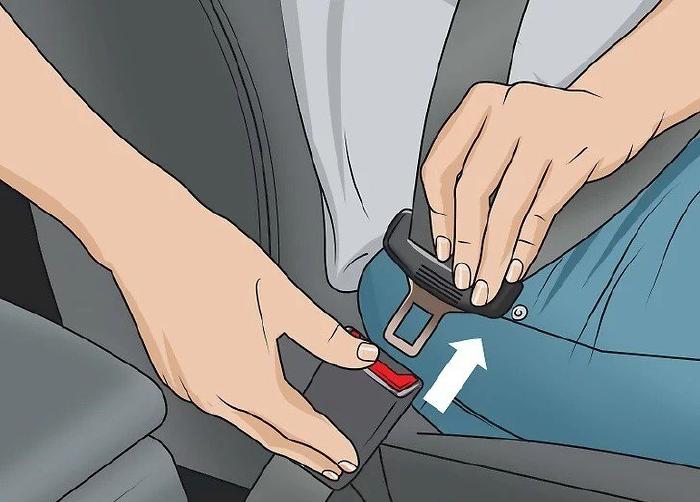 Tháo dây đai an toàn