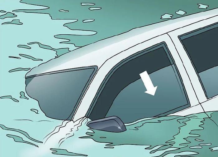 Mở một cửa sổ xe