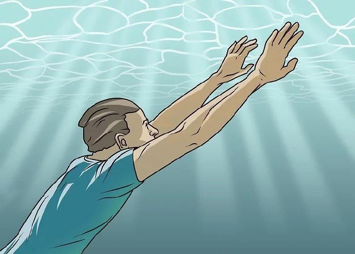 Bơi lên mặt nước càng nhanh càng tốt
