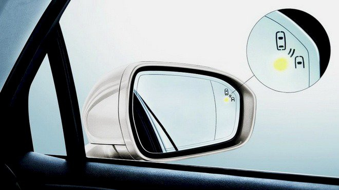 Cảnh báo điểm mù - Blind Spot Detection