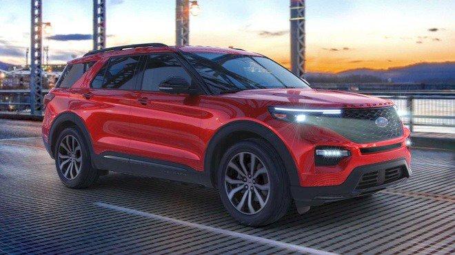Ford Explorer Enthusiast ST có giá rẻ hơn gần 3.000 USD so với bản cao cấp nhất