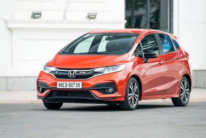 Honda Jazz: 18 xe