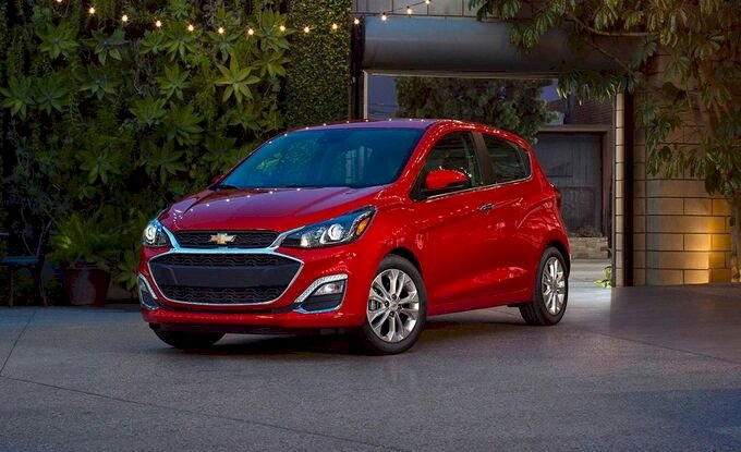 Chevrolet Spark – 7,13 lít/100 km