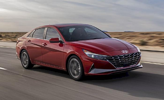 Hyundai Elantra – 6,36 lít/100 km