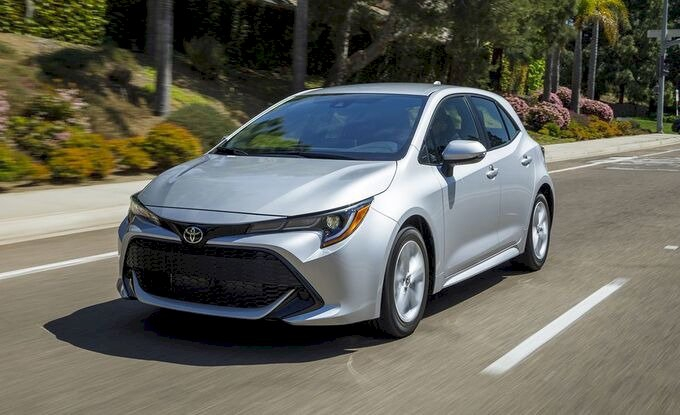 Toyota Corolla Hatchback – 6,72 lít/100 km