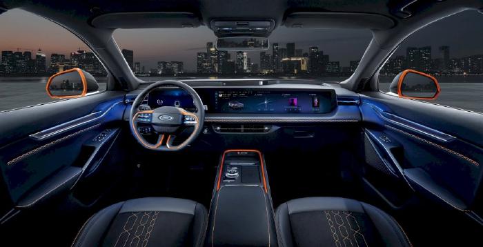 Ford Evos - phiên bản gầm cao của Mondeo(3)