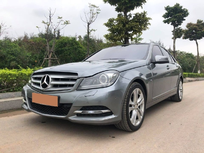 bán Mercedes C200 2011, số tự động, màu xám