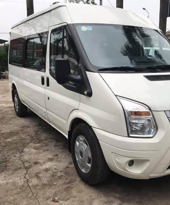 bán xe Ford Transit Van 2014, số sàn, máy dầu, 6 chỗ, 900 kg, màu trắng