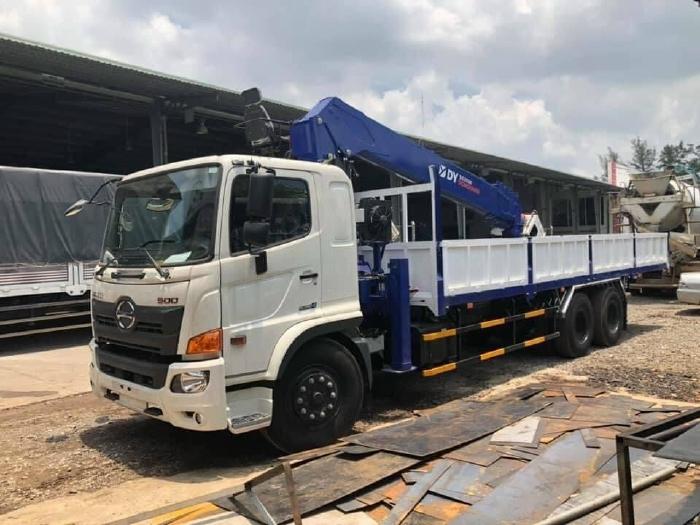 Xe tải Hino FL 15 tấn gắn cẩu DY 7 tấn ( Cẩu DY nhập khẩu Hàn Quốc)