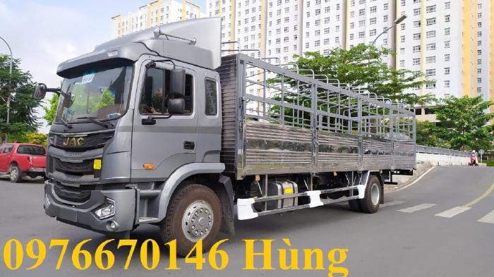 Xe tải JAC A5 9t thùng dài 8,2m ngân hàng hỗ trợ 80% giá trị xe