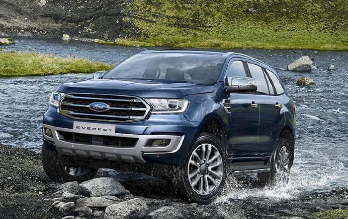 Ford Everest là mẫu SUV cỡ D đổi mới sớm nhất tại thị trường Việt Nam, từ năm 2014