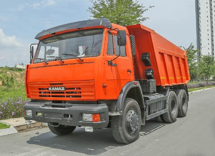 xe ben Kamaz nhập khẩu