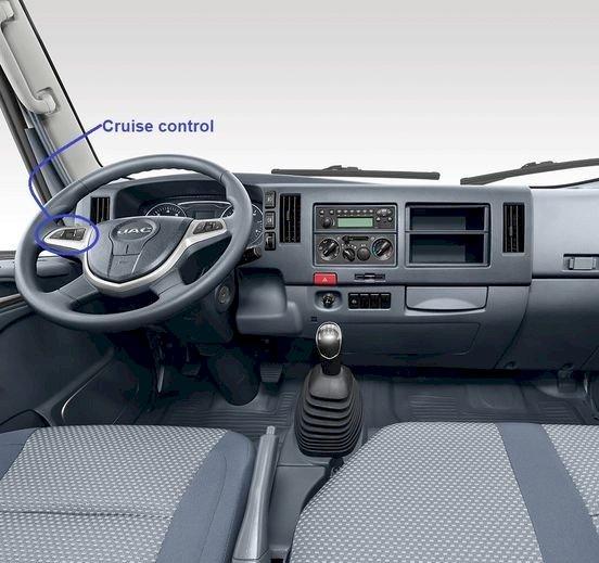 Nội thất xe tải Jac 9t N900(1)