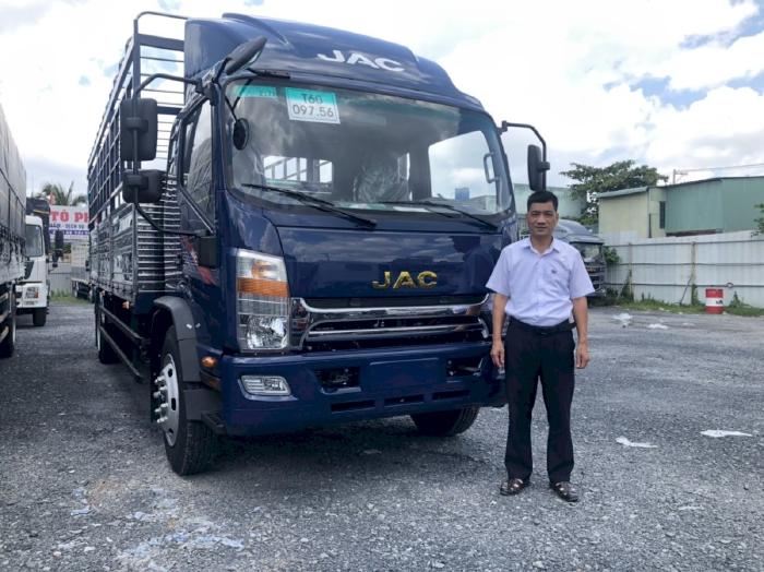 Giá xe tải jac 9 tấn, Jac N900 giá bao nhiêu?