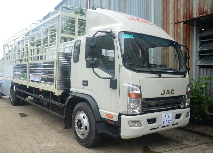 Xe tải jac 9 tấn thùng dài 7m