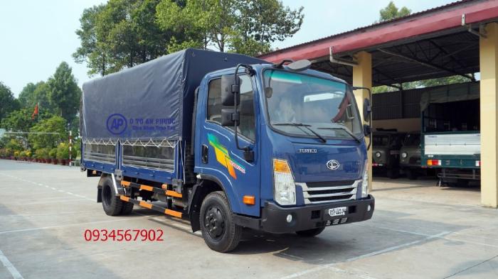 Xe tải teraco245l động cơ isuzu mạnh mẽ
