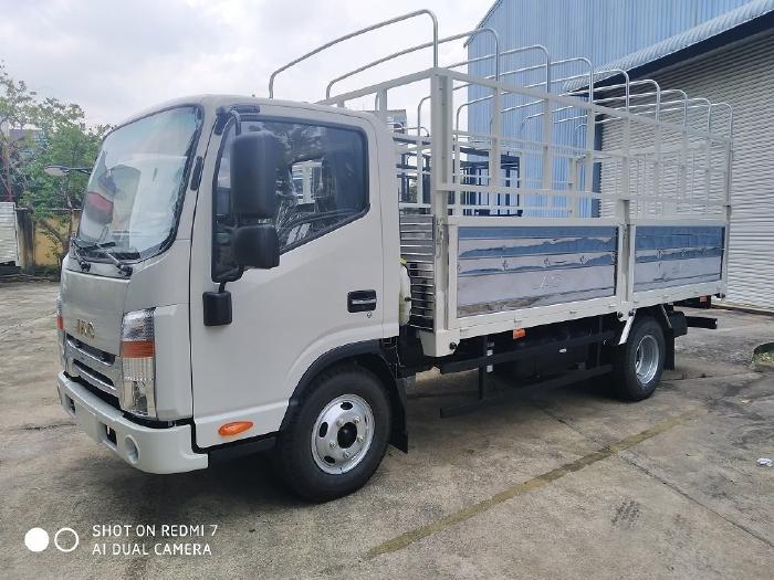 Bán xe tải JAC N350 3,5 tấn - Thùng mui bạt dài 4m3