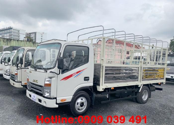 JAC N200 tải 1.9 tấn thùng dài 4m4, máy ISUZU