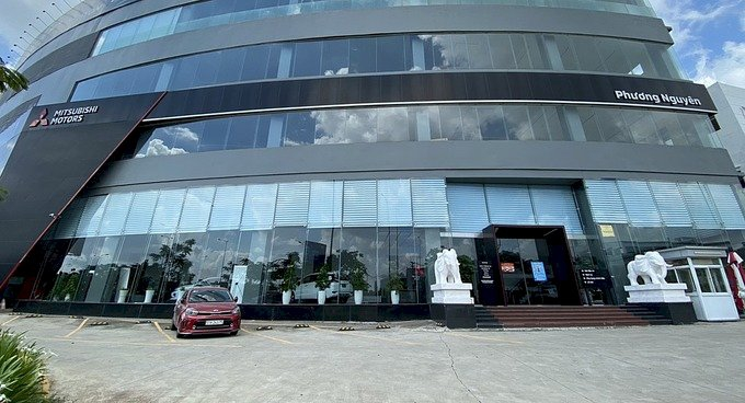 Showroom Mitsubishi ở quận Bình Tân tạm ngưng hoạt động.