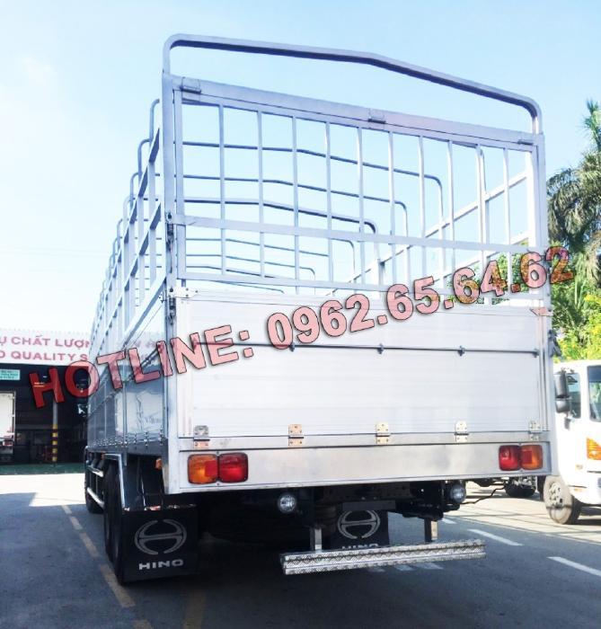 Xe tải thùng Hino FL8JW7A Thùng mui bạt nhôm