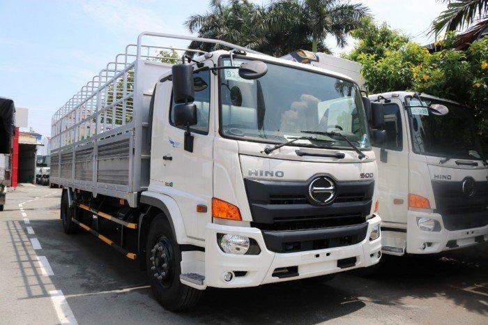 Xe tải thùng Hino FG8JT7A Thùng mui bạt 8 tấn