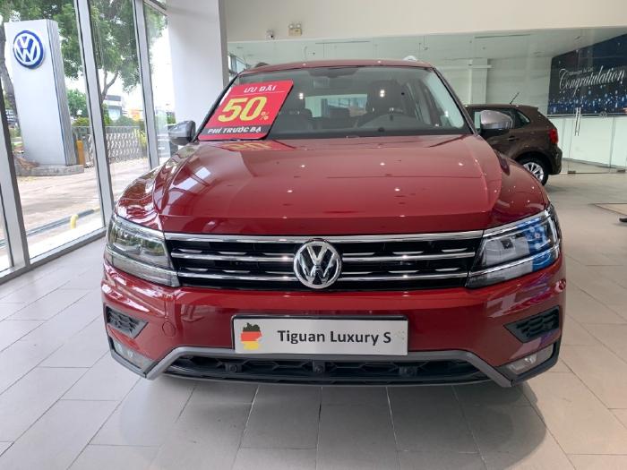 Volkswagen Tiguan Allspace Luxury S Đỏ sang trọng