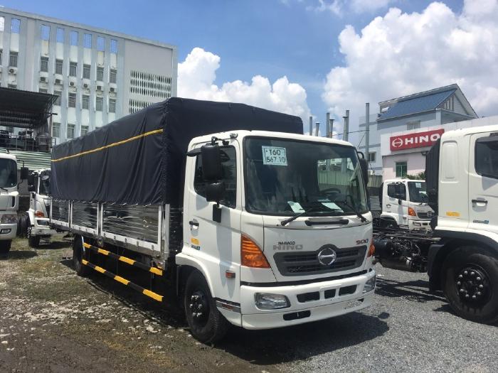 Xe tải thùng Hino FC thùng dài 7,2m (Xe nền có sẵn)