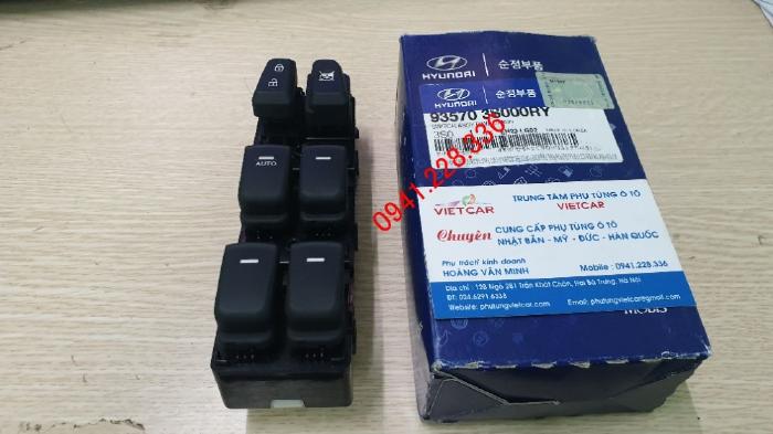 Công tắc nâng kính tổng Hyundai Sonata 935703S000RY