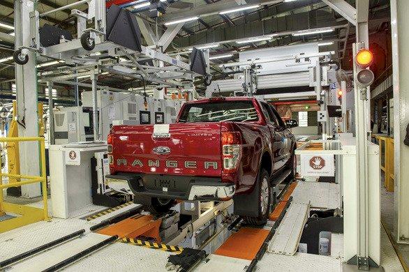 Ford quay trở lại lắp ráp xe Ranger tại Việt Nam